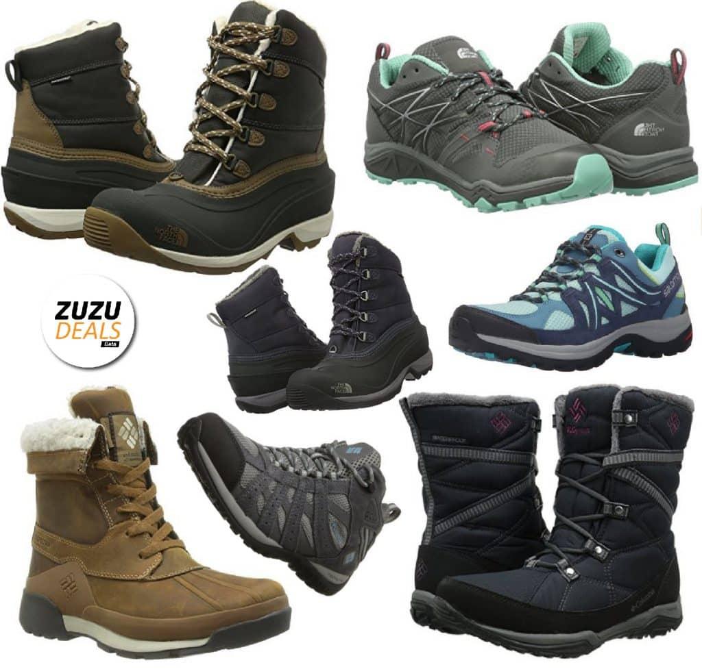 נעלי ומגפי הרים לנשים של המותגים המובילים במחירים מדהימים