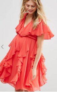 שמלה מדהימה להריון אסוס זול
