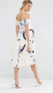 שמלה פרחונית הריון אסוס זוזו דיליס