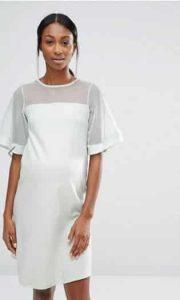 שמלת הריון לבנה אסוס זול מבצע זוזו דיליס 1