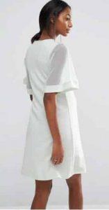 שמלת הריון לבנה אסוס זול מבצע זוזו דיליס SALE