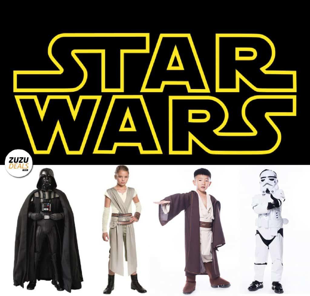 תחפושות מלחמת הכוכבים Star Wars לבנים ובנות