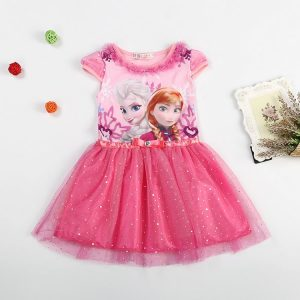 2016 Elsa Anna Long Sleeve Dress זוזו דיליס פורים PURIM ZUZU DEALS