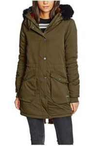 Bench Womens Long Parka Jacket