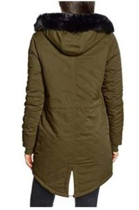 Bench Womens Long Parka Jacket1