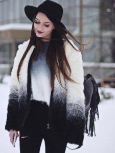 black-white-long-sleeve-faux-fur-coat