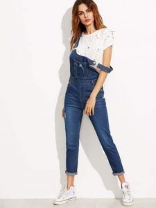 blue-strap-ripped-overall-jeans-with-pocket