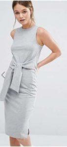 New Look Tie Waist Midi Dress אסוס מבצע