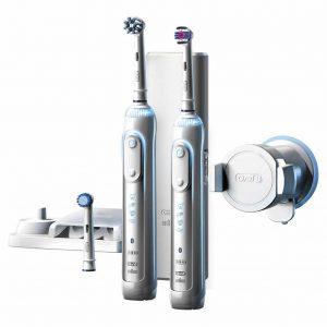 Oral B Genius 8000 Electric Rechargeable מארז זוגי מברשת שיניים חשמלית מבצע