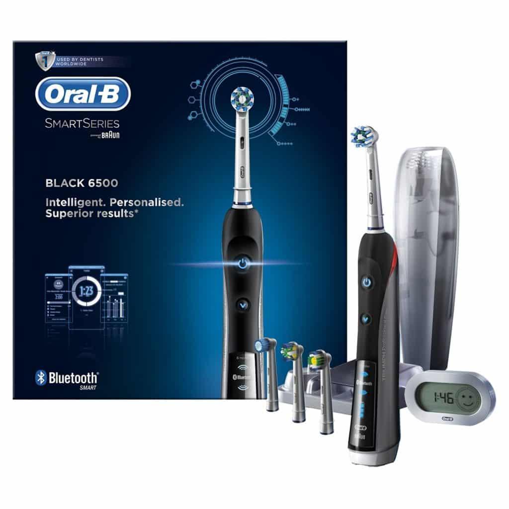 דיל היום! מברשת  שיניים חשמלית Oral B 6500 Bluetooth