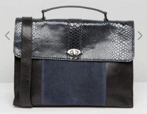 Urbancode Faux Snake Mix Tote Bag