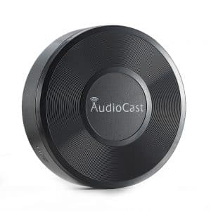 New M5 AudioCast WIFI Receiver 3 5mm 2 4G WIFI Music Airplay DLNA IOS Android HIFI