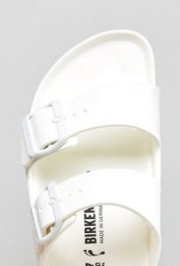 Birkenstock Arizona White Eva Flat Sandals