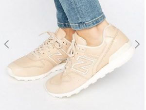 New Balance 996 Trainers In Nude Leather