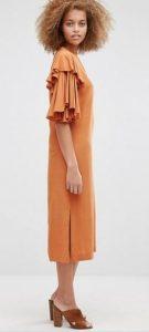 שמלה צנועה יפה אסוס זול