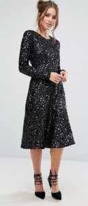 שמלה צנועה לאירוע בזול אסוס