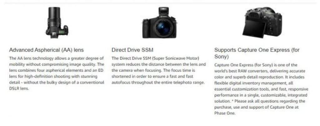 Sony DSC RX10 SLR מבצע