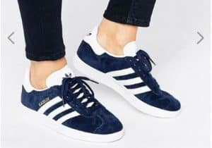 adidas Originals Navy Suede Gazelle Unisex Trainers