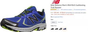 2018 05 23 11 03 04 Amazon.com New Balance Mens Mt410v5 Cushioning Trail Runner Trail Running