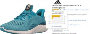 2018 05 23 11 16 20 Amazon.com adidas Mens Alphabounce Em m Running Shoe Mystery Petrol Grey Two