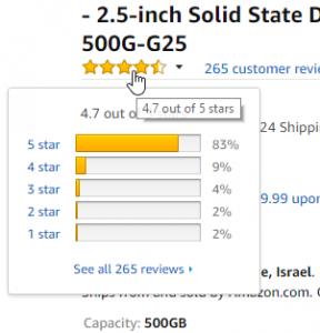 2018 05 23 17 01 33 Amazon.com SanDisk 500GB Ultra 3D NAND SATA III SSD 2.5 inch Solid State Driv