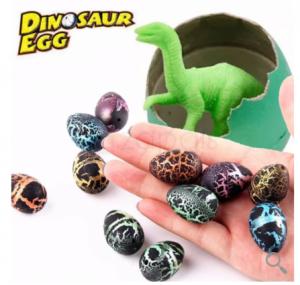 2018 06 03 14 11 55 5PCs Surprise Hatching Growing Cracks Dinosaur Egg Fissure Pets Toys Random Colo