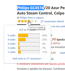 2018 06 04 21 54 08 Philips GC4516 20 Azur Performer Plus Ferro a Vapore Tecnologia Auto Steam Cont