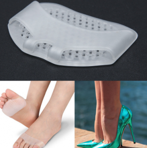 2018 06 04 23 59 53 1 Pair Gel Insoles Cushions Forefoot Pain Relief Support Front Feet Care High He