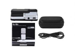 2018 06 21 13 48 20 Samson GO Mic Mini Portable Recording Condenser Microphone Clip on Design for Sa