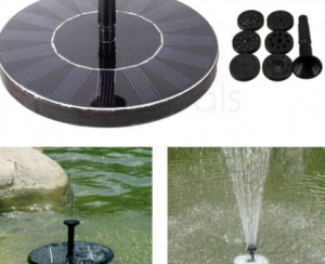 2018 06 26 15 13 43 Outdoor Solar Pond Fountain Floating Lily Water Fountain Decor Kit