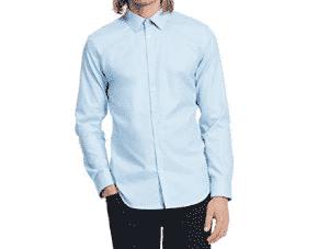 2018 07 11 15 26 58 Calvin Klein Mens Slim Fit Solid Long Sleeve Non Iron Button Down Shirt Little