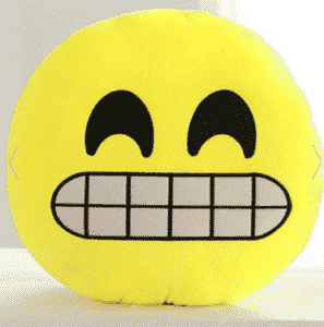 2018 08 02 13 27 58 Corn Yellow Smile Face Emoticon Pattern Pillowcase RoseGal.com