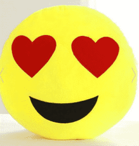 2018 08 02 13 28 08 Red Smile Face Emoticon Pattern Pillowcase RoseGal.com