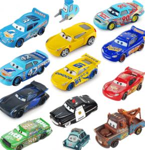 2018 08 27 14 15 15 Disney Pixar Cars 3 Lightning McQueen Jackson Storm Mater 1 55 Diecast Metal All