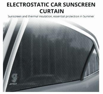 מדבקות להצללת חלונות הרכב – רק 3.99 $ לזוג | 5.99$ לרביעייה !