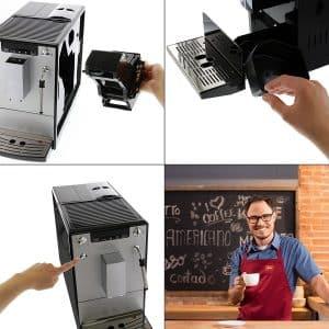 מכונת פולי קפה עם מקציף חלב מבצע זוזו דילס