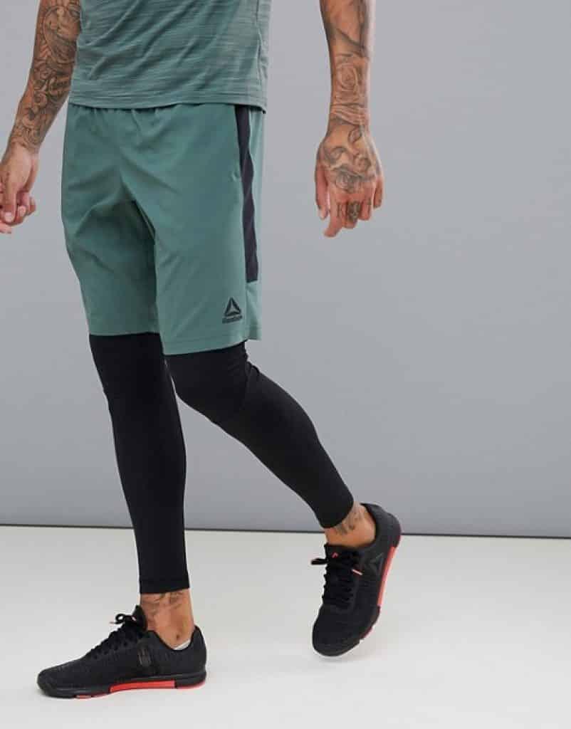 מכנסי ריצה צבע ירוק ריבוק זוזו דילס