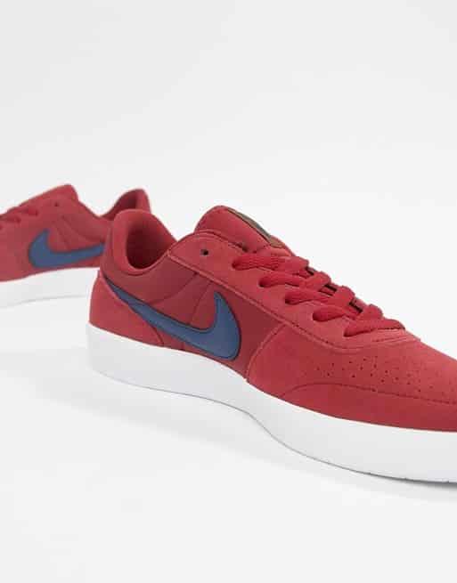 נעלי נייק גברים אדום כחול לבן זוזו דילס