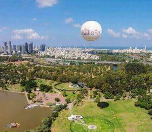 2018 11 19 15 24 02 טיסה בכדור פורח TLV Balloon בפארק הירקון גרו גרופון