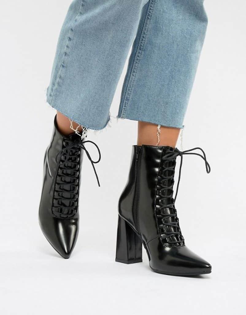 מגפיים מושלמים צבע שחור לקה זוזו דילס