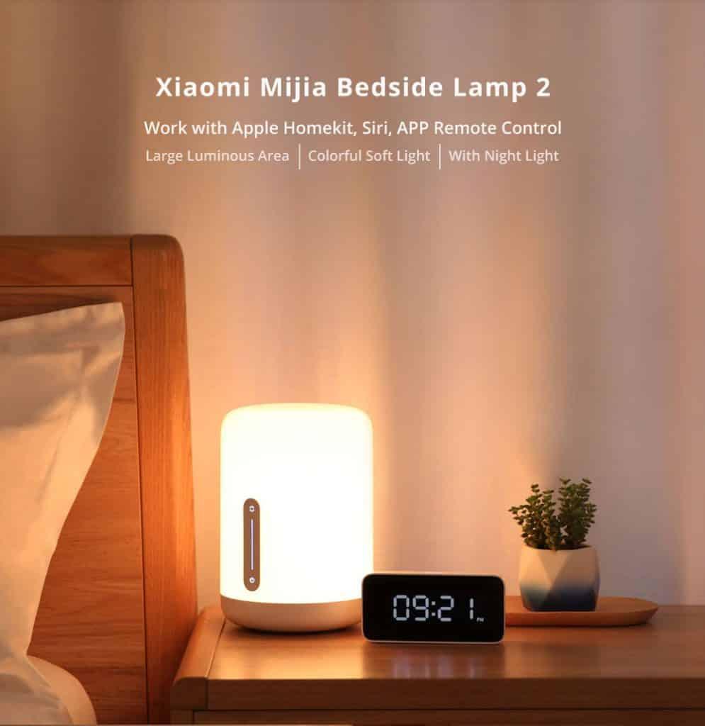Xiaomi Mijia Bedside Lamp 2 White 20181211160921195