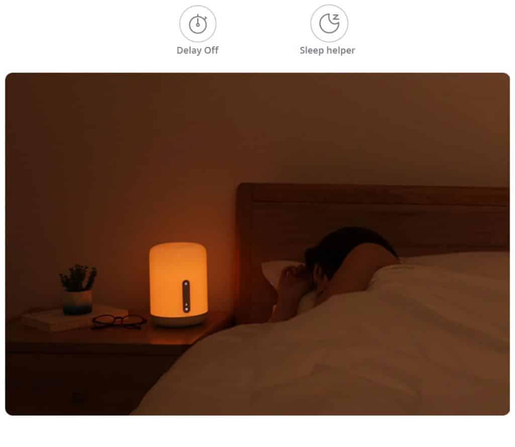 Xiaomi Mijia Bedside Lamp 2 White 20181211160925561