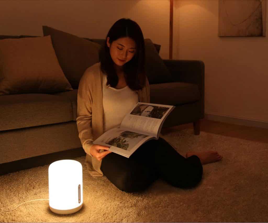 Xiaomi Mijia Bedside Lamp 2 White 20181211160927278