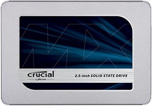 איזה צלילה במחיר! Crucial MX500 500GB ב-65$ כולל משלוח!