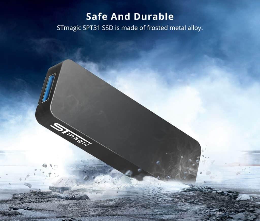 STmagic SPT31 512G Mini Portable M 2 SSD Gray 20190301175912920