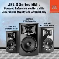 JBL Professional 308P MkII 8 Studio Monitor  מוניטור אקטיבי ב 50% הנחה