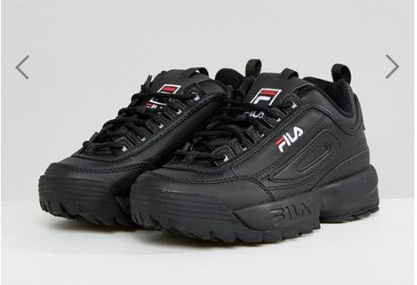 נעלי פילה צבע שחור