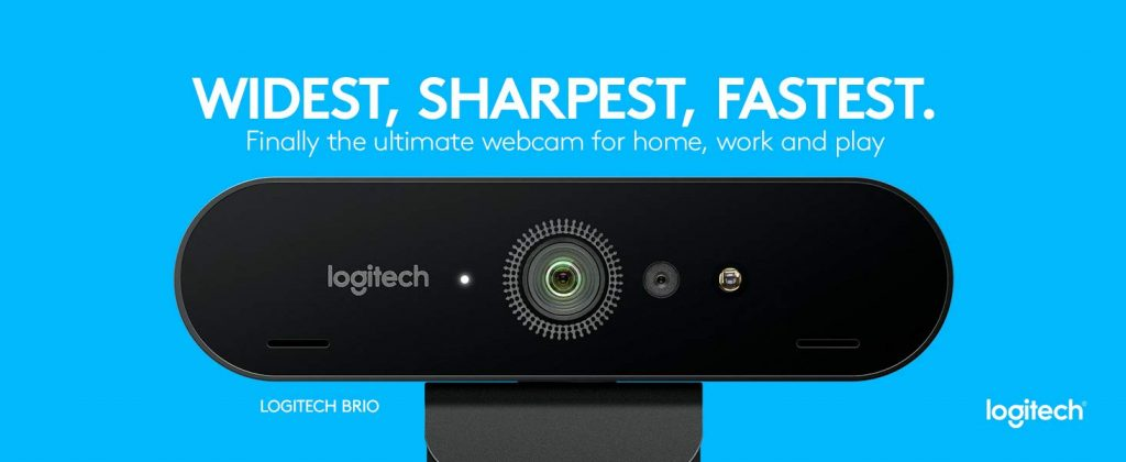 מצלמת רשת איכותית ומתקדמת לוגיטק בריו