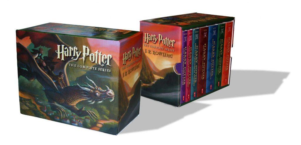 הארי פוטר כל הספרים במבצע זול