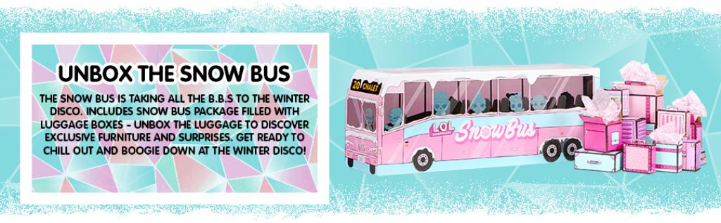 כל ההפתעות מתחבאות בקןפסאות בתוך אוטובוס חורף קסום
